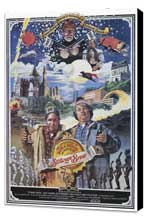 Strange Brew - 11 x 17 Movie Poster - Style B - Museum Wrapped Canvas