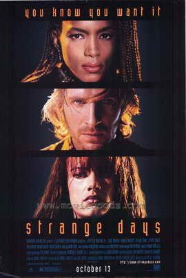 Strange Days - 27 x 40 Movie Poster - Style A