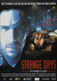 Strange Days - 27 x 40 Movie Poster - German Style A