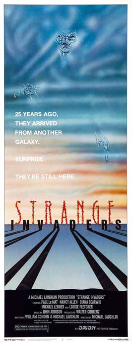 Strange Invaders - 14 x 36 Movie Poster - Insert Style A