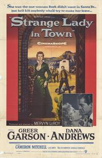 Strange Lady in Town - 11 x 17 Movie Poster - Style A