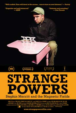 Strange Powers: Stephin Merritt and the Magnetic Fields - 27 x 40 Movie Poster - Style A