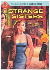 Strange Sisters - 11 x 17 Retro Book Cover Poster