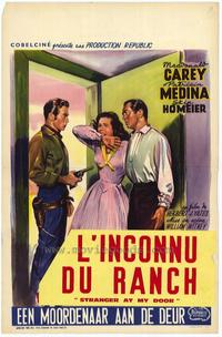 Stranger at My Door - 27 x 40 Movie Poster - Belgian Style A