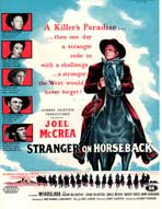 Stranger on Horseback - 27 x 40 Movie Poster - UK Style A