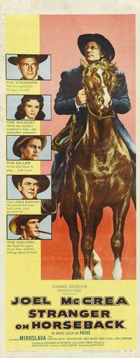 Stranger on Horseback - 14 x 36 Movie Poster - Insert Style A