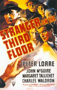 Stranger on the Third Floor - 11 x 17 Movie Poster - Style B