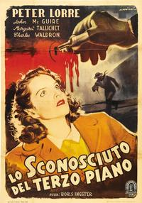 Stranger on the Third Floor - 11 x 17 Movie Poster - Spanish Style B