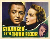 Stranger on the Third Floor - 11 x 14 Movie Poster - Style A