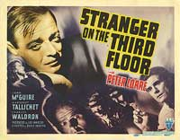 Stranger on the Third Floor - 11 x 14 Movie Poster - Style B