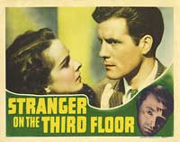 Stranger on the Third Floor - 11 x 14 Movie Poster - Style C