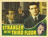 Stranger on the Third Floor - 11 x 14 Movie Poster - Style D