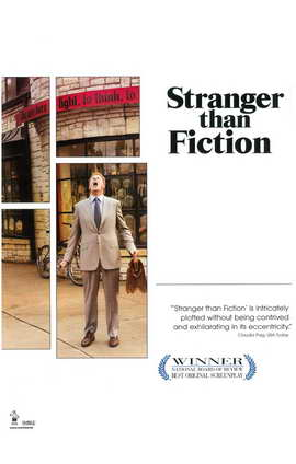 Stranger Than Fiction - 11 x 17 Movie Poster - Style B