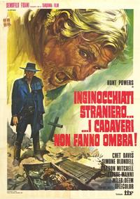 Stranger that Kneels beside the Shadow of a Corpse - 39 x 55 Movie Poster - Italian Style A