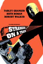 Strangers on a Train - 11 x 17 Movie Poster - Style G
