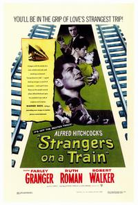 Strangers on a Train - 27 x 40 Movie Poster - Style A