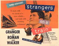 Strangers on a Train - 11 x 14 Movie Poster - Style B