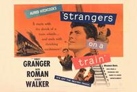 Strangers on a Train - 27 x 40 Movie Poster - Style B