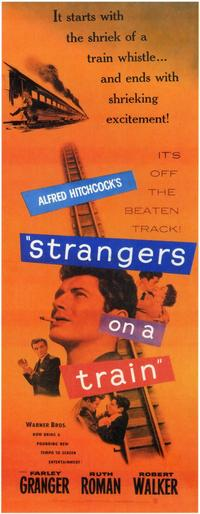 Strangers on a Train - 14 x 36 Movie Poster - Insert Style A