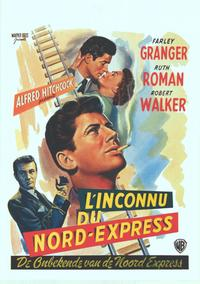 Strangers on a Train - 14 x 22 Movie Poster - Belgian Style A