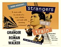 Strangers on a Train - 11 x 17 Movie Poster - UK Style E