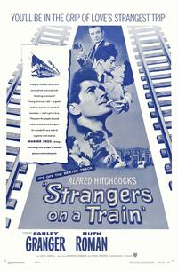 Strangers on a Train - 27 x 40 Movie Poster - Style H