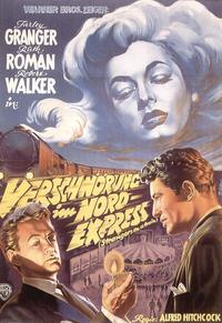 Strangers on a Train - 11 x 17 Movie Poster - German Style C