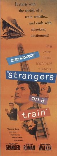 Strangers on a Train - 14 x 36 Movie Poster - Insert Style B