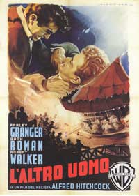 Strangers on a Train - 11 x 17 Movie Poster - Italian Style A