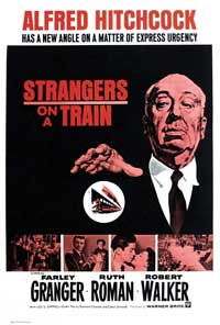 Strangers on a Train - 11 x 17 Movie Poster - Style C