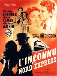Strangers on a Train - 11 x 17 Movie Poster - Belgian Style B