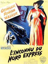Strangers on a Train - 11 x 17 Movie Poster - Belgian Style D