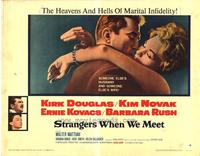 Strangers When We Meet - 22 x 28 Movie Poster - Half Sheet Style A