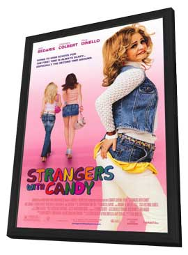 Strangers with Candy - 11 x 17 Movie Poster - Style A - in Deluxe Wood Frame