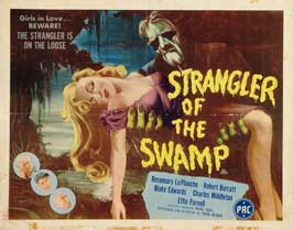 Strangler of the Swamp - 22 x 28 Movie Poster - Half Sheet Style A