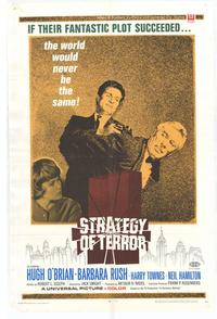 Strategy of Terror - 27 x 40 Movie Poster - Style A