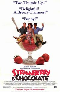Strawberry and Chocolate - 11 x 17 Movie Poster - Style B