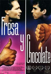 Strawberry and Chocolate - 11 x 17 Movie Poster - Spanish Style A