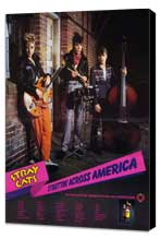 Stray Cats - 11 x 17 Music Poster - Style A - Museum Wrapped Canvas