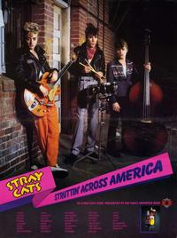 Stray Cats - 27 x 40 Music Poster - Style A