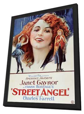 Street Angel - 11 x 17 Movie Poster - Style A - in Deluxe Wood Frame
