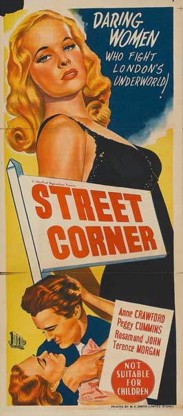 Street Corner - 14 x 36 Movie Poster - Insert Style A