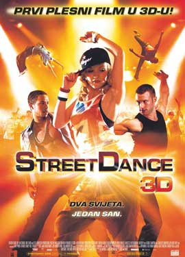 Street Dance 3D - 27 x 40 Movie Poster - Croatian Style A