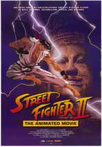 Street Fighter II Movie - 11 x 17 Movie Poster - Style A
