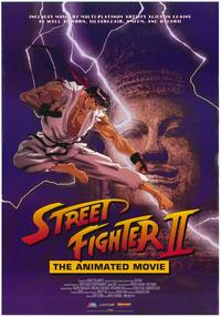 Street Fighter II Movie - 27 x 40 Movie Poster - Style A