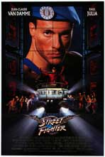Street Fighter - Movie Poster - Reproduction - 11 x 17 Style A