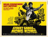 Street Gangs of Hong Kong - 22 x 28 Movie Poster - Half Sheet Style A