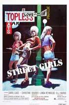 Street Girls - 11 x 17 Movie Poster - Style B