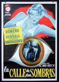 Street of Shadows - 27 x 40 Movie Poster - Spanish Style A