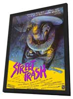 Street Trash - 11 x 17 Movie Poster - Style A - in Deluxe Wood Frame